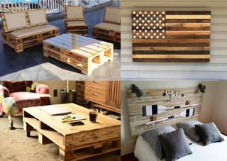 木製パレットのDIYはインテリアに最適! 驚きのアイデア集