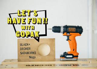 GoPakシリーズでDIYする、ウッドスピーカー! | DIYer(s)