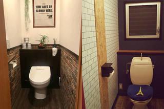 トイレの壁紙をDIY!秀逸な好サンプル集!! | DIYer(s)│リノベと暮らしとDIY。