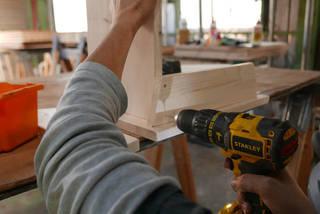 5枚の板で作れる!シンプルベンチの作り方!! | DIYer(s)│リノベと暮らしとDIY。