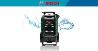 ボッシュコードレス洗浄機Fontus(フォンタス)。アウトドアライフをもっと快適に