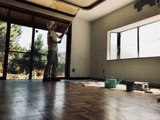 部屋一面を真っ白に塗ってみた!使用した道具と手順をレクチャー! | DIYer(s)│リノベと暮らしとDIY。