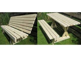 2WAY! 2×4材でピクニックテーブル兼ベンチをDIY | DIYer(s)│リノベと暮らしとDIY。