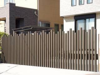 自慢の外観!庭の印象をつくる外構目隠しフェンスの施工例 | DIYer(s)│リノベと暮らしとDIY。