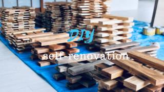 全ての壁紙にさようなら。1,000枚の杉板で作る凹凸壁をDIY! | DIYer(s)│リノベと暮らしとDIY。