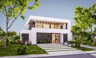 外壁塗装で外観を格上げ!ツートンカラーのオシャレな施工例&色選びのコツ | DIYer(s)│リノベと暮らしとDIY。